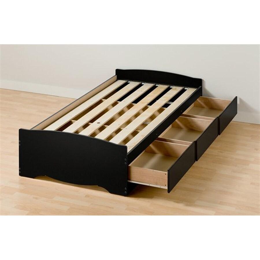 Shop Prepac Furniture Mate 39 S Black Twin Extra Long
