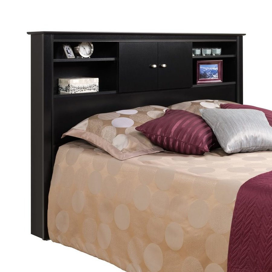 Prepac Furniture Kallisto Black Full/Queen Headboard