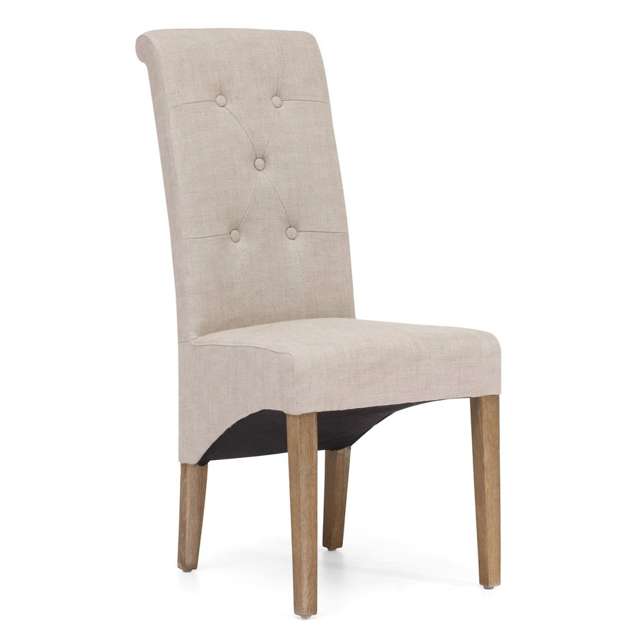 Zuo Modern Set of 2 Hayes Valley Beige Side Chairs