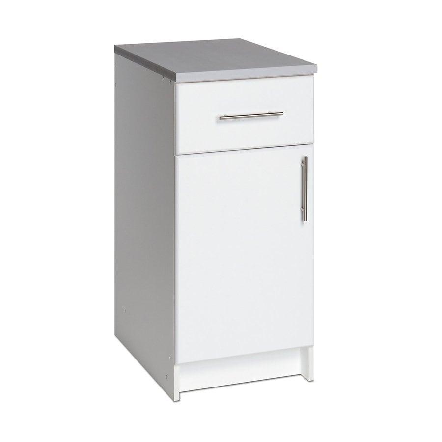 Prepac Furniture Elite 16-in W x 36-in H x 24-in D Wood Composite Freestanding Garage Cabinet