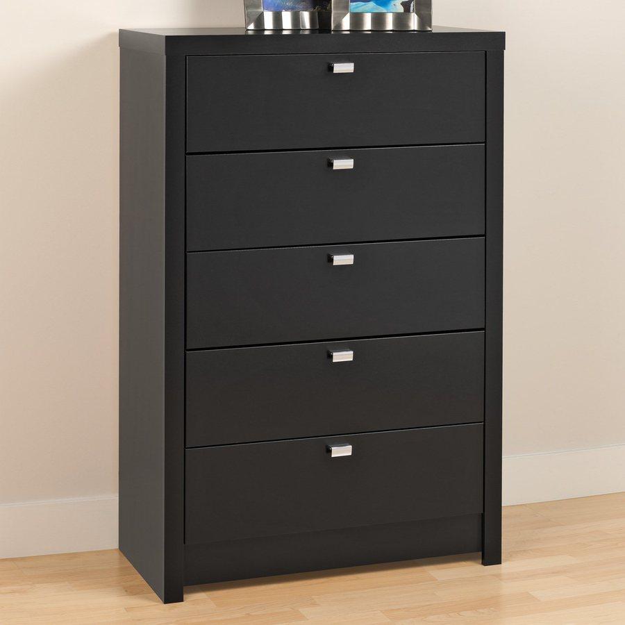 Prepac Furniture Series 9 Black Standard Chest
