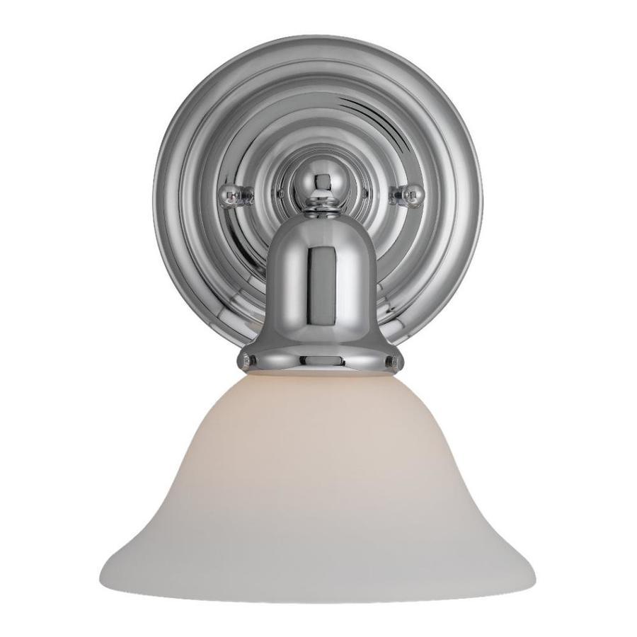 Sea Gull Lighting 1-Light Sussex Chrome Bathroom Vanity Light