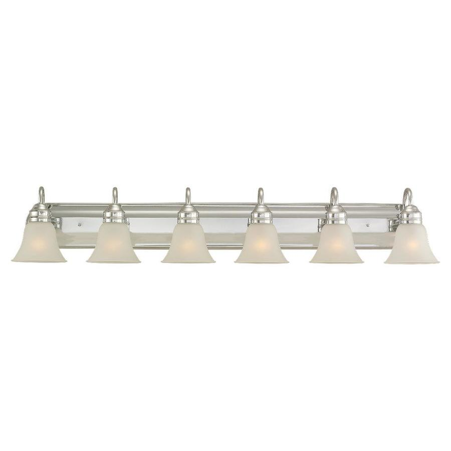 Sea Gull Lighting 6-Light Gladstone Chrome Bathroom Vanity Light
