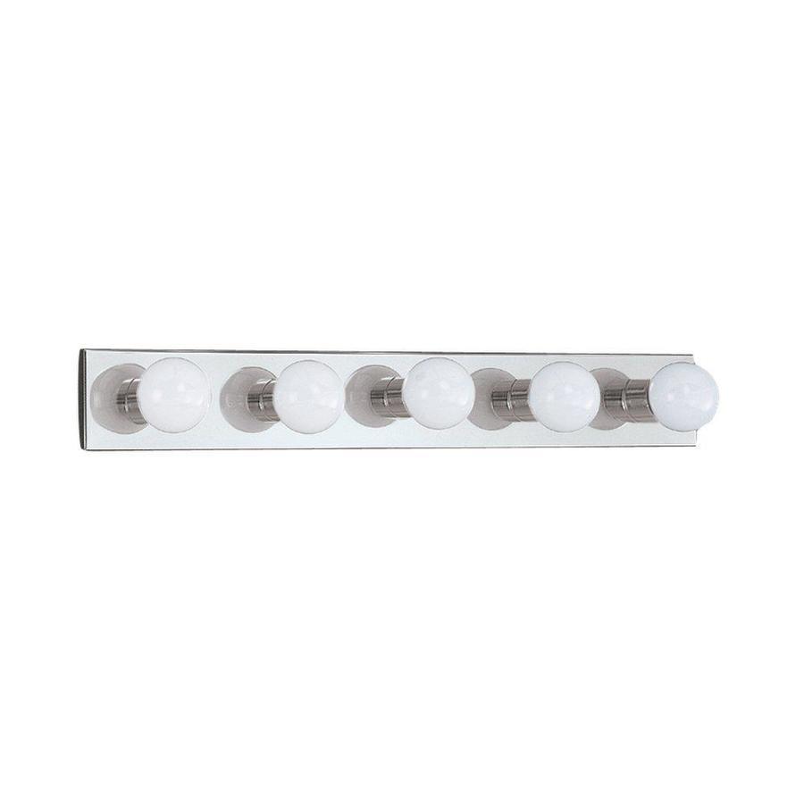 Sea Gull Lighting 5-Light Center Stage Chrome Bathroom Vanity Light