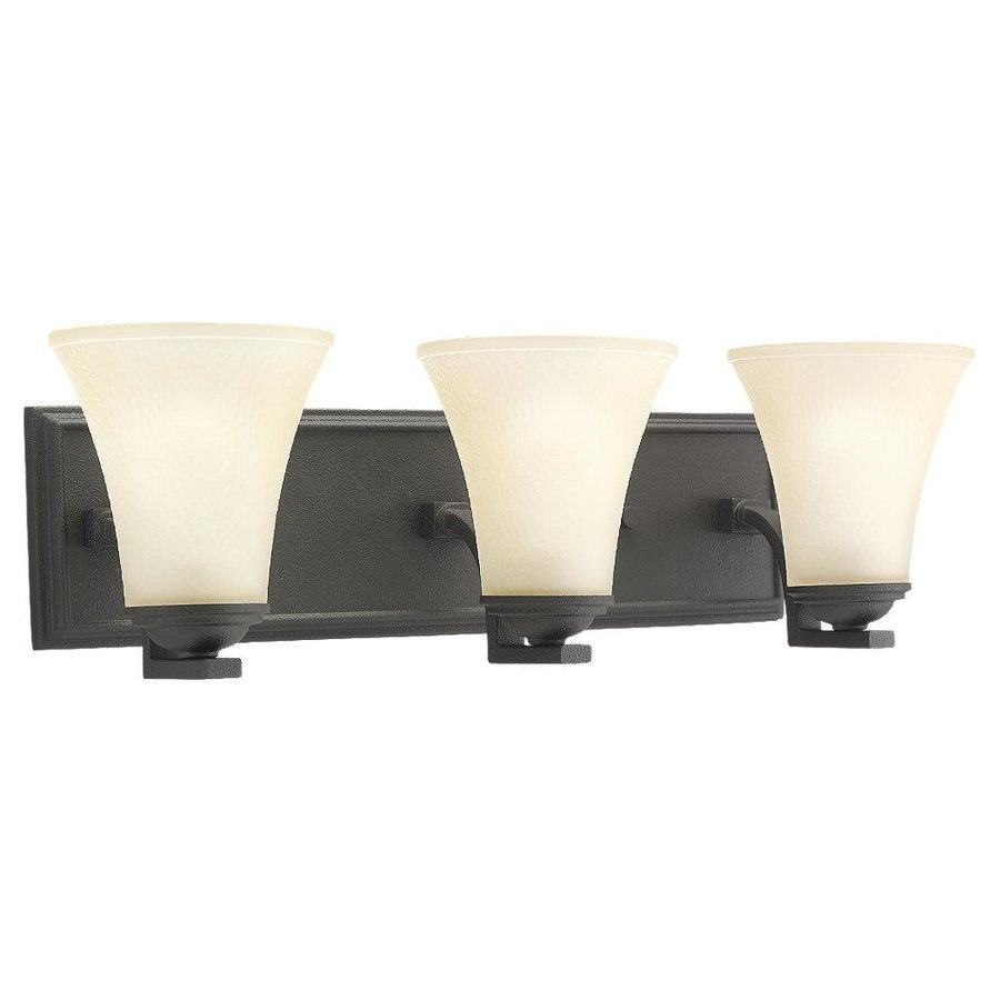 Sea Gull Lighting 3-Light Somerton Blacksmith Bathroom Vanity Light