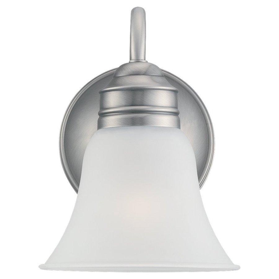 Sea Gull Lighting 1-Light Gladstone Antique Brushed Nickel Bathroom Vanity Light