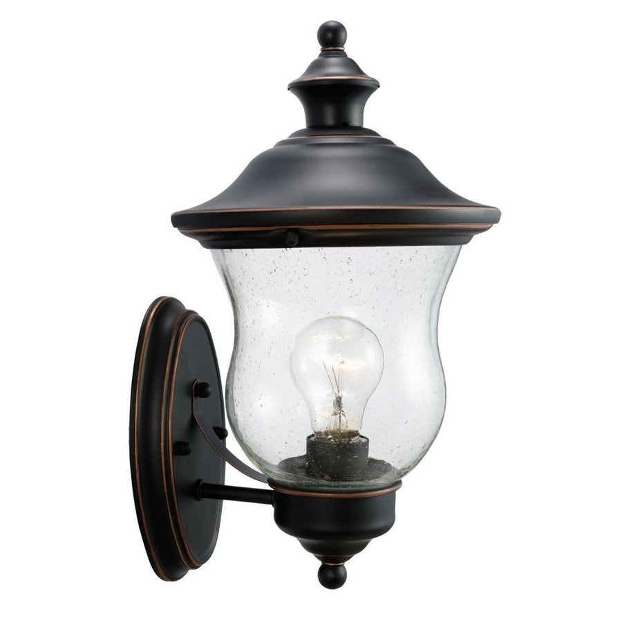 Wesco Industrial Uplight Pendant: Shop Design House Highland 13-in H Oil-Rubbed Bronze