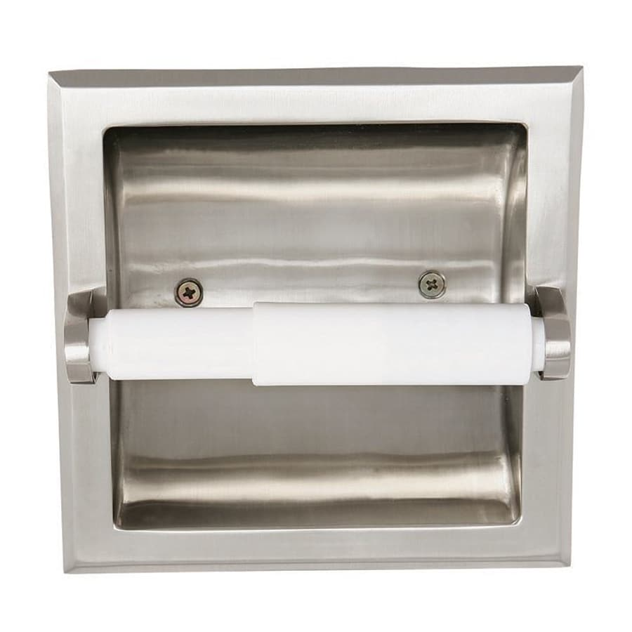 Modern recessed toilet paper holder the image kid has it - Recessed toilet paper dispenser ...