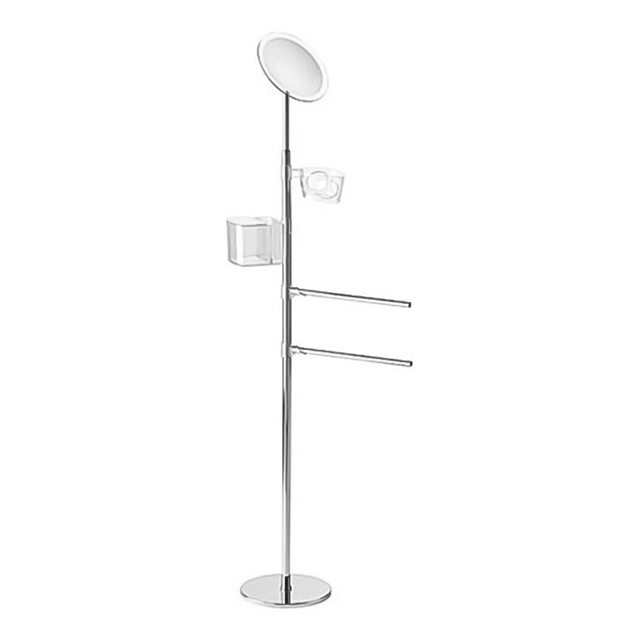 Nameeks Virginia Chrome Rack Towel Bar (Common: 17-in; Actual: 17.16-in)
