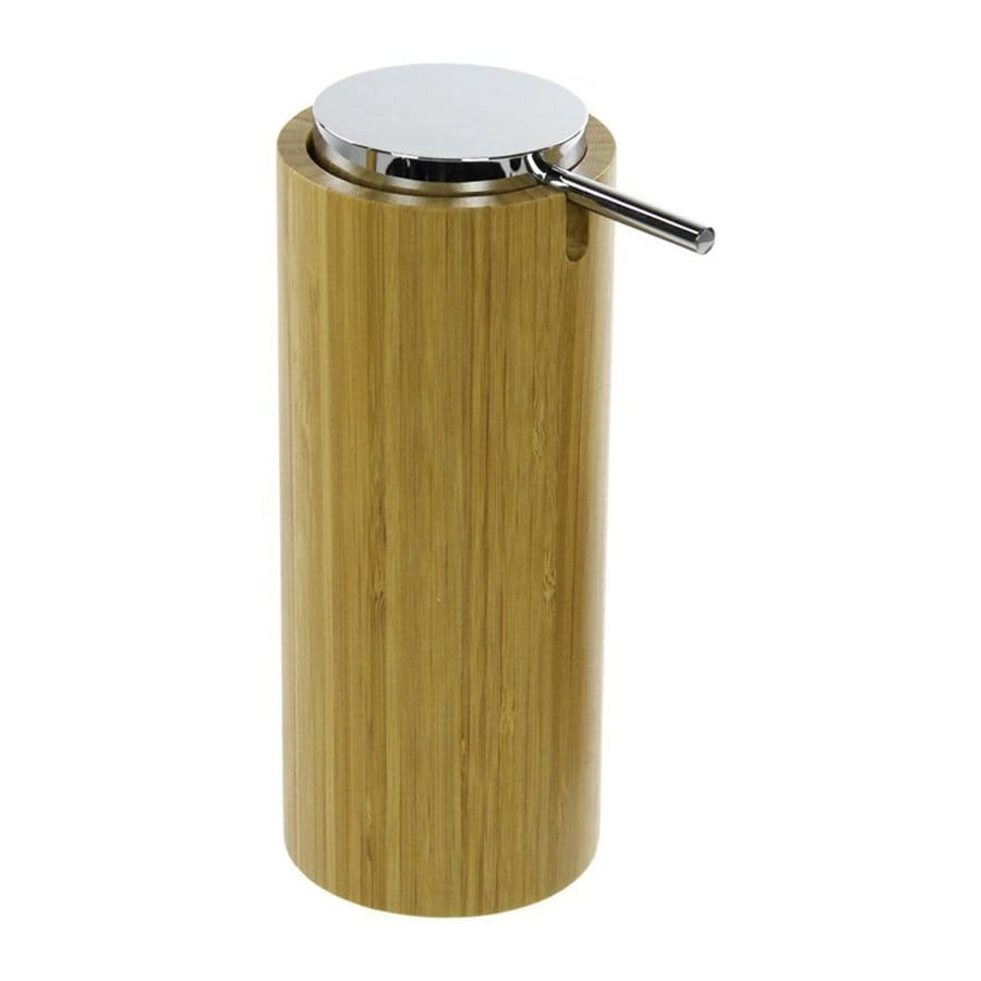 Nameeks Altea Natural Wood Soap and Lotion Dispenser