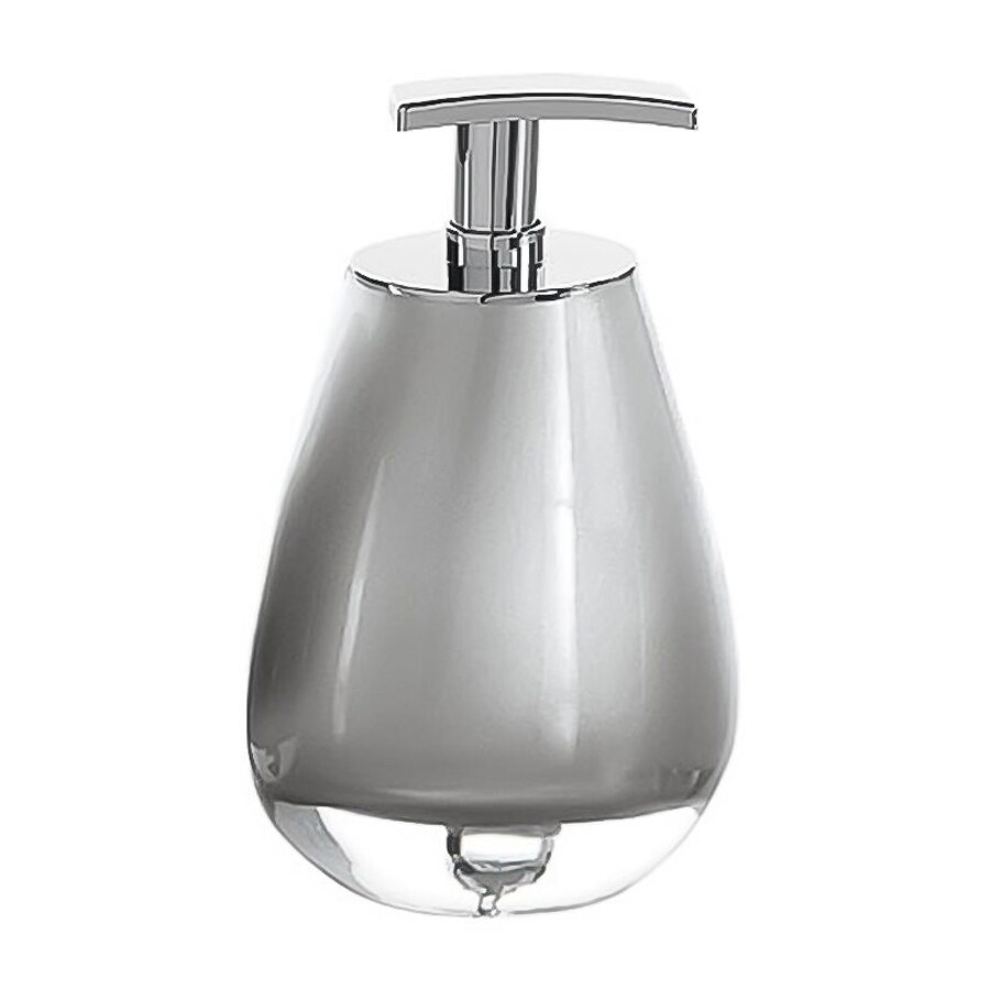 Nameeks Forsizia Silver Soap and Lotion Dispenser