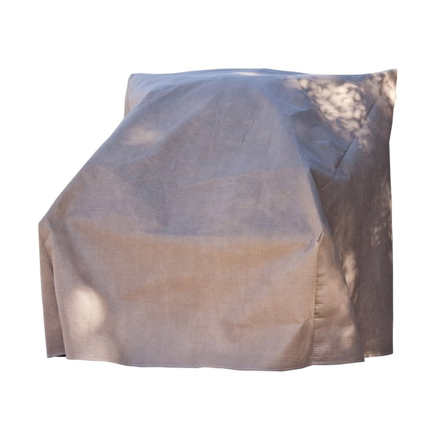 Duck Covers Cappuccino Polypropylene Conversation Chair Cover