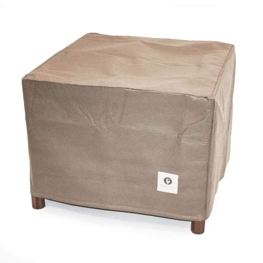 Duck Covers Cappuccino Polypropylene Side Table Cover