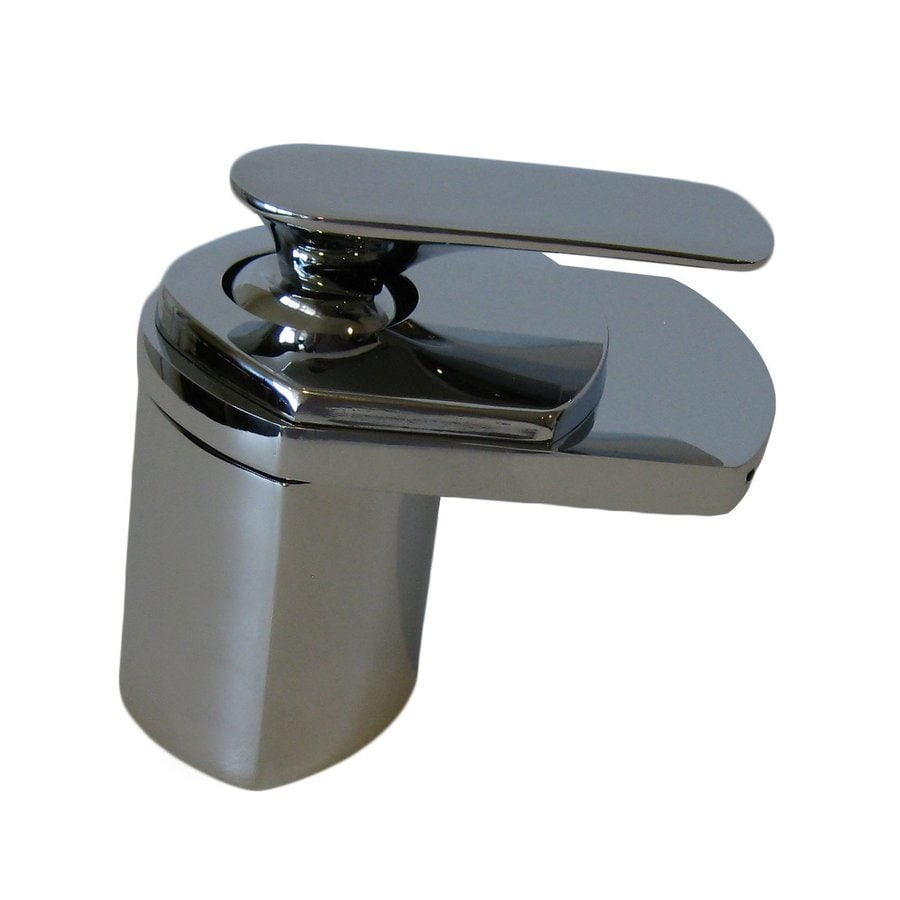 Shop Novatto Waterfall Chrome 1 Handle Vessel Bathroom Faucet At
