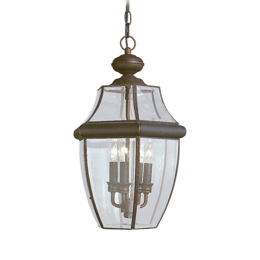 Shop sea gull lighting lancaster antique bronze Outdoor pendant lighting