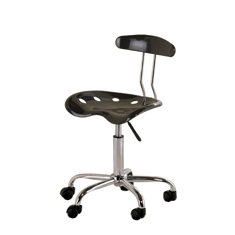 Tractor Seat Desk Chair : Shop ace bayou tractor seat black task office chair at