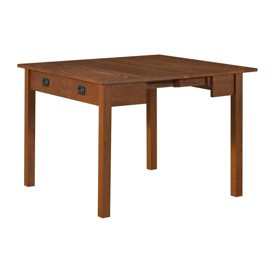Shop stakmore fruitwood rectangular extending dining table for Shop dining tables