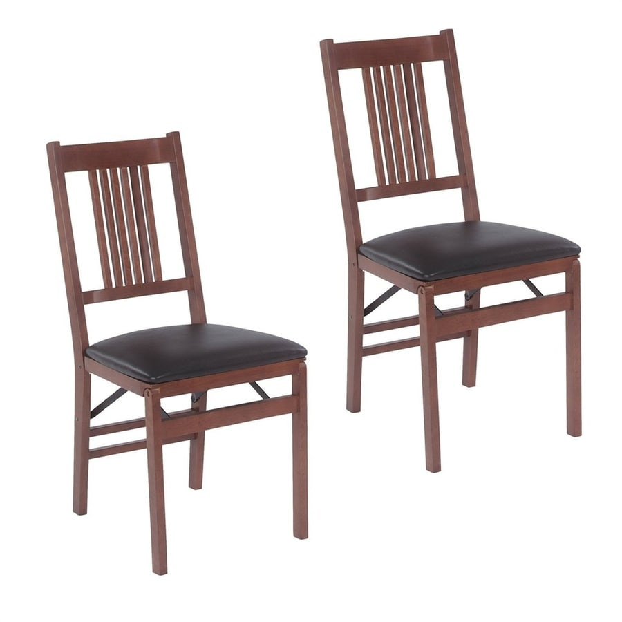 Stakmore Set of 2 Fruitwood Side Chairs