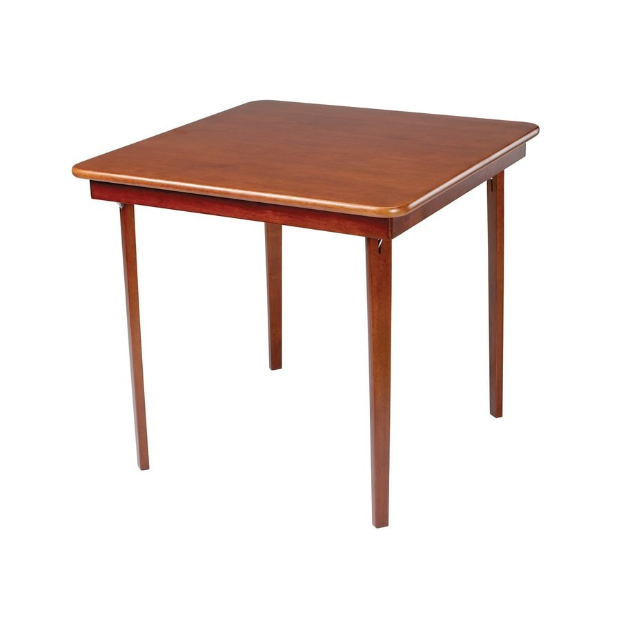 Stakmore Cherry Square Wood Poker Table