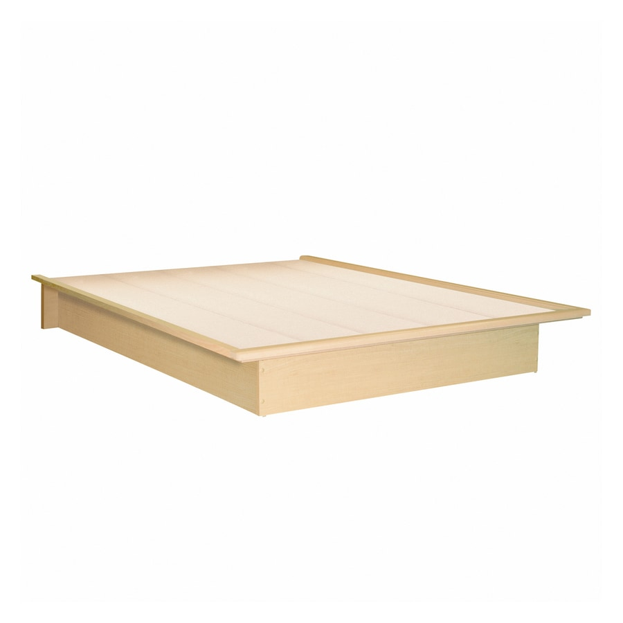 South Shore Furniture Step One Natural Maple Full Platform Bed
