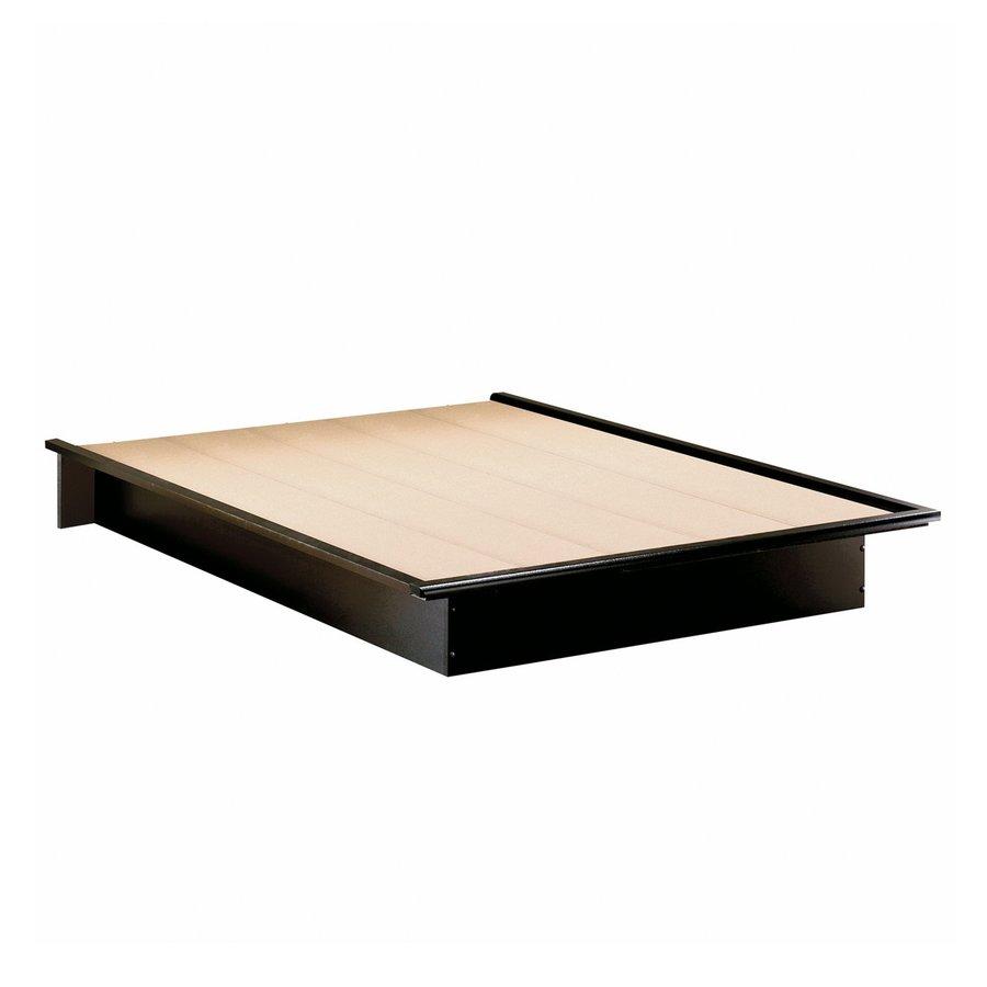 South Shore Furniture Step One Pure Black Full Platform Bed