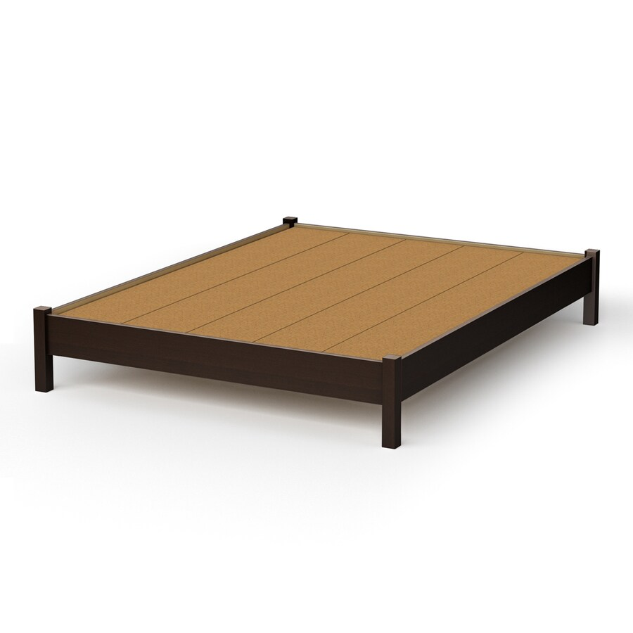 Shop south shore furniture step one chocolate twin Twin bed with mattress included