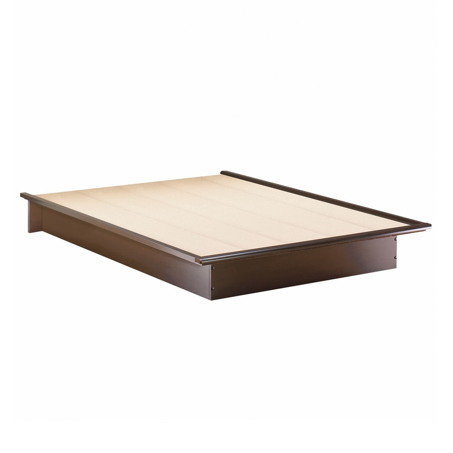 South Shore Furniture Step One Chocolate Full Platform Bed