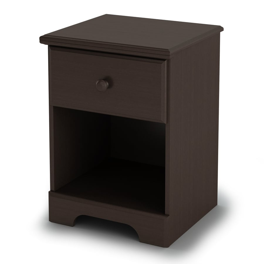 South Shore Furniture Summer Breeze Chocolate Composite Nightstand