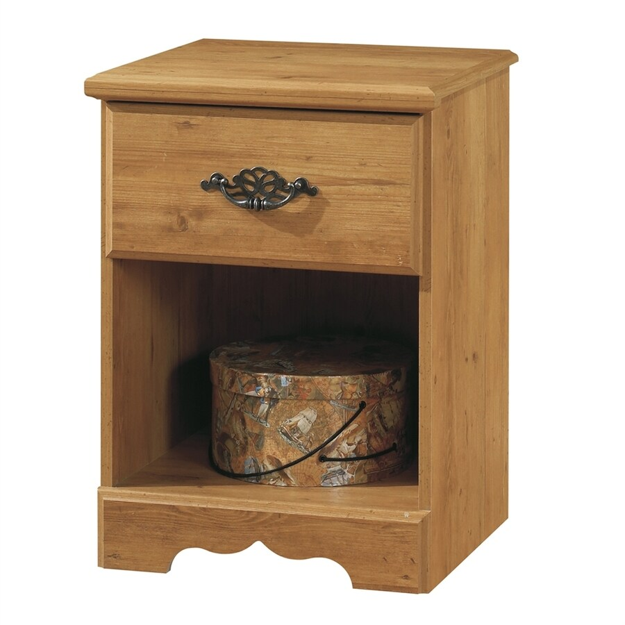 South Shore Furniture Prairie Country Pine Composite Nightstand