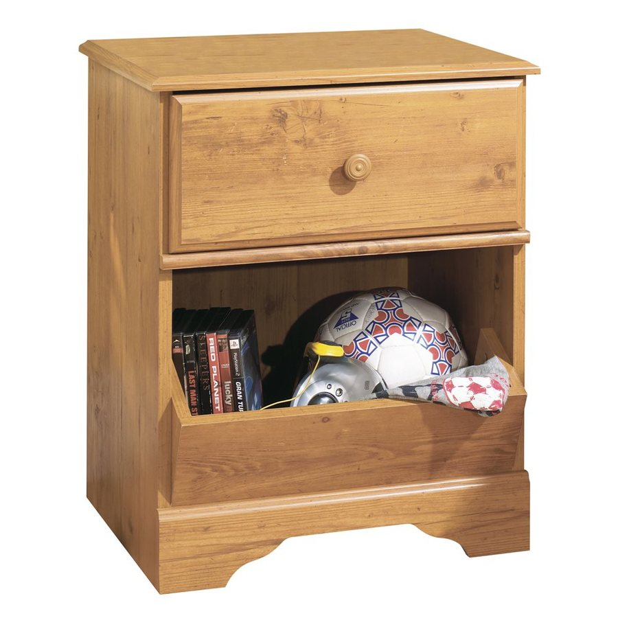 Shop South Shore Furniture Little Treasures Country Pine Composite Nightstand At