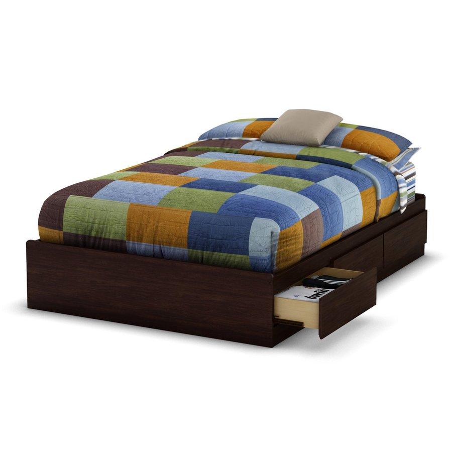 South Shore Furniture Havana Full Platform Bed with Storage