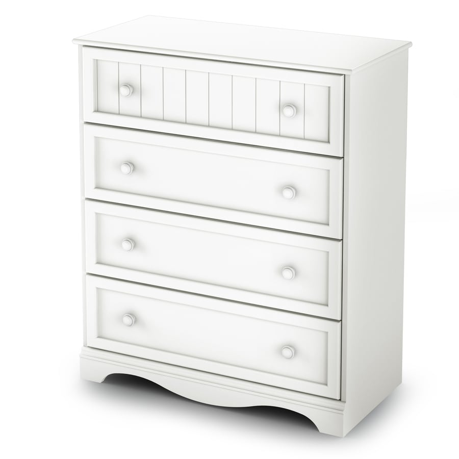 South Shore Furniture Savannah Pure White Standard Chest