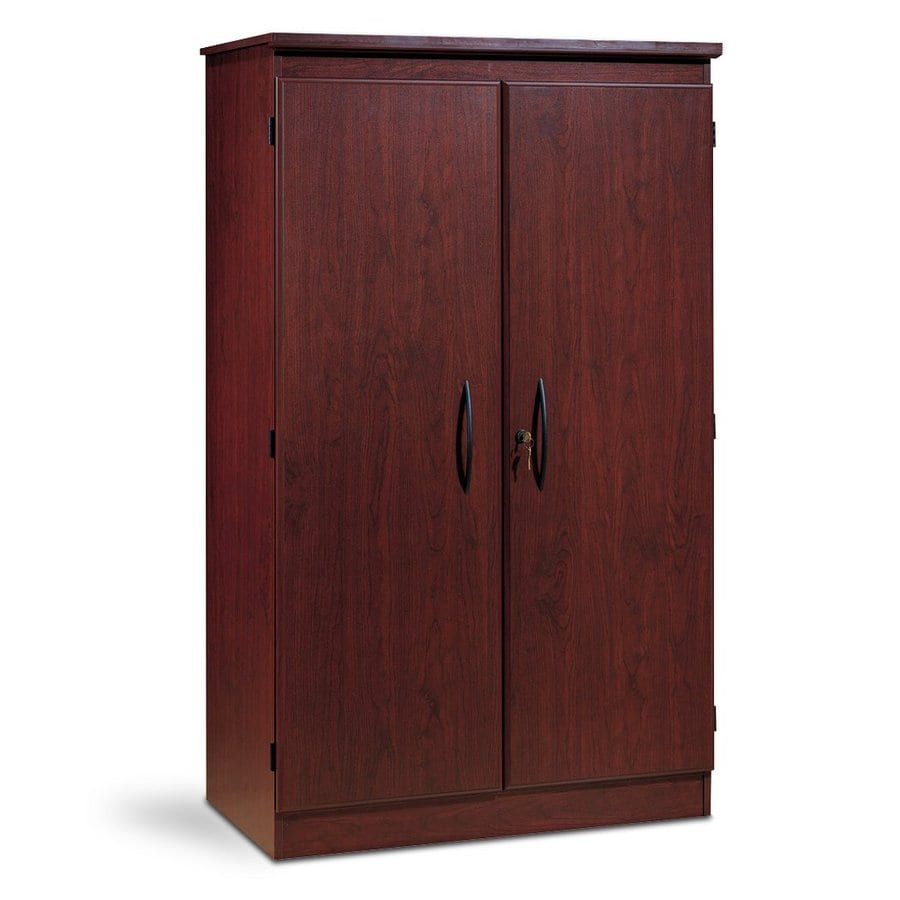 Shop South Shore Furniture Royal Cherry 4 Shelf Office Cabinet At Lowes Com