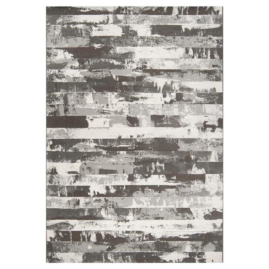 Surya Contempo Rectangular Indoor Machine-Made Area Rug (Common: 5-ft x 8-ft; Actual: 5-ft 3-in W x 7-ft 6-in L)