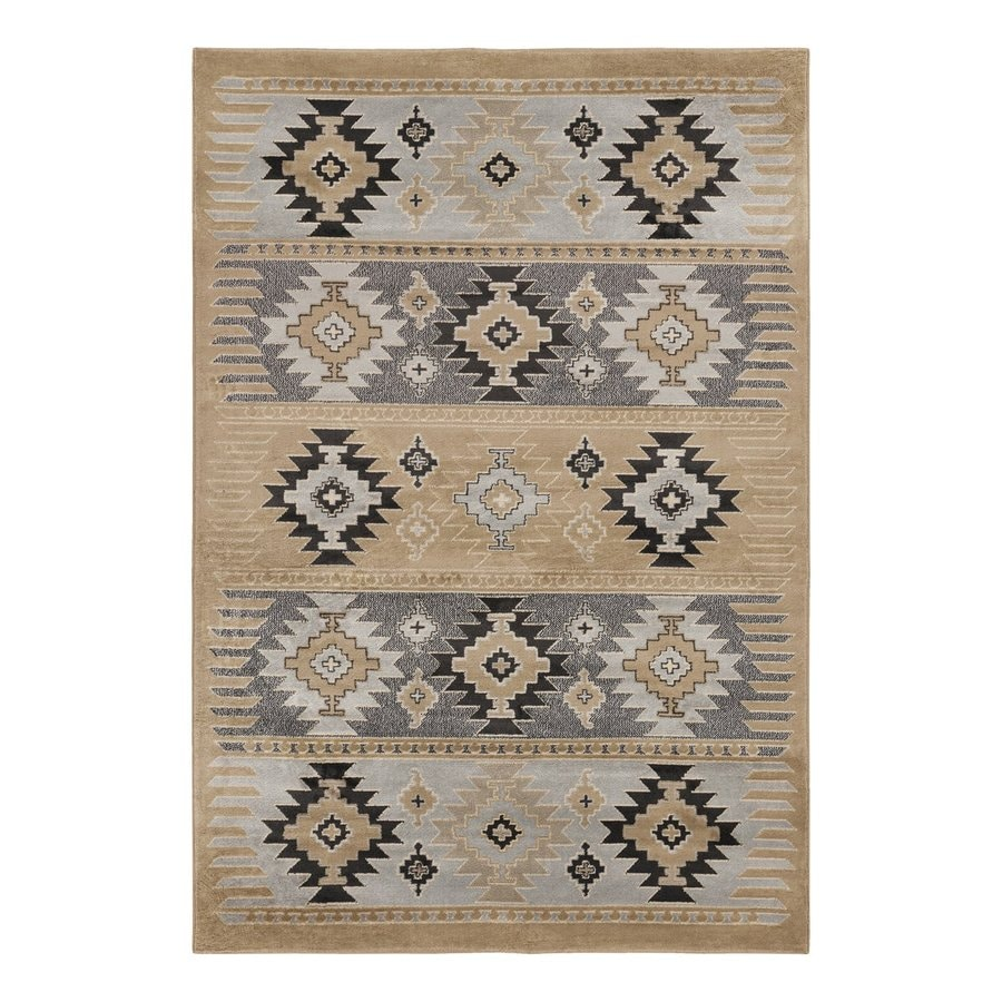 Surya Paramount Rectangular Indoor Machine-Made Southwestern Area Rug (Common: 5 x 8; Actual: 63-in W x 90-in L)