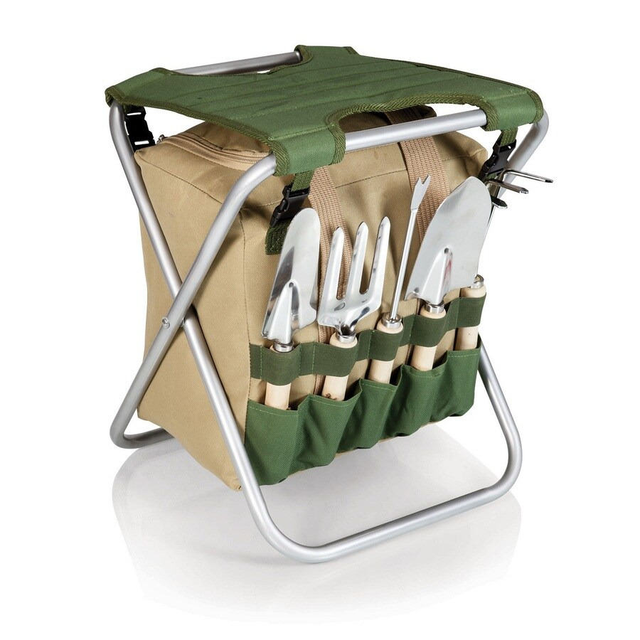 Picnic Time Garden Seat and Hand Tool Kit