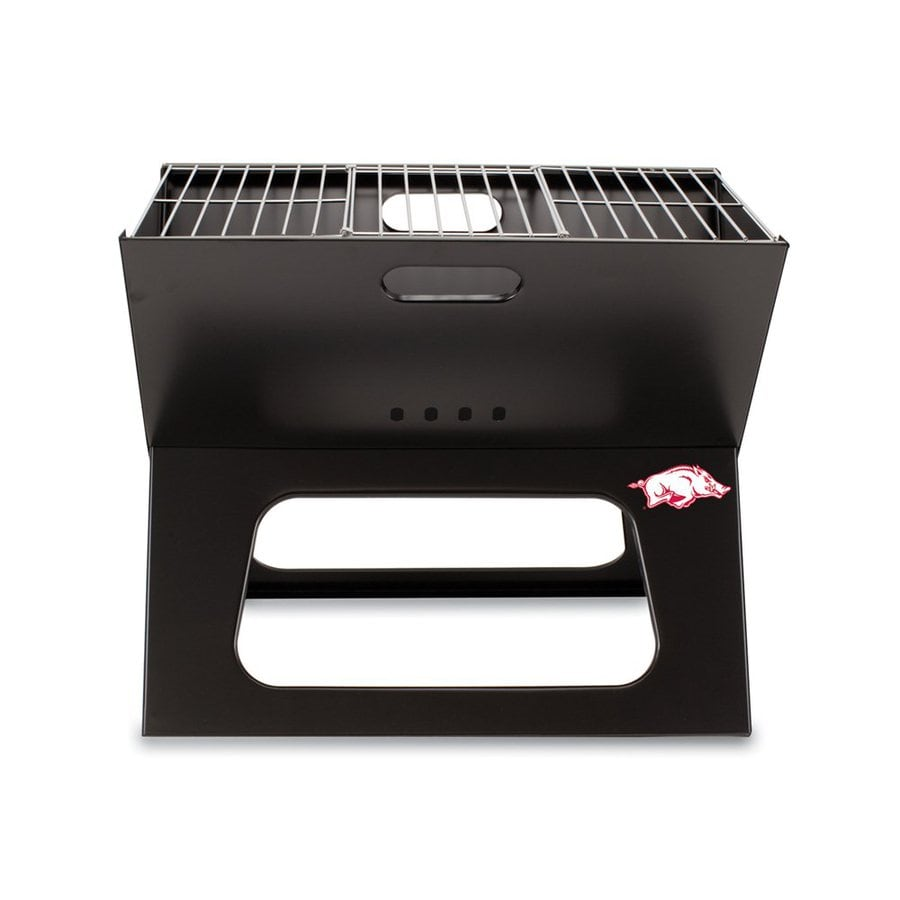 Picnic Time X-Grill 203.5-sq in University Of Arkansas Razorbacks Portable Charcoal Grill