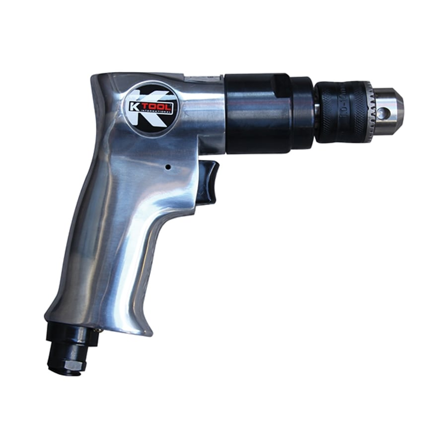 K Tool International 2000-RPM Reversible Air Drill