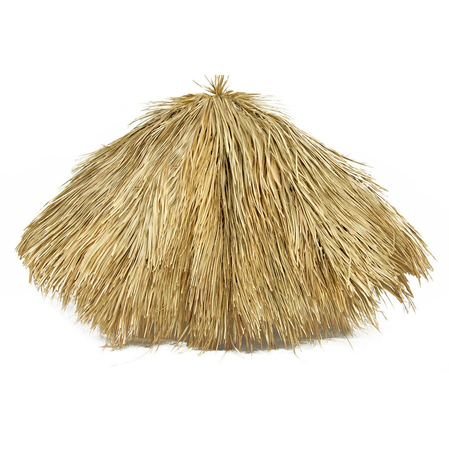 Backyard X-Scapes Natural Wood (Not Metal) Thatch Panels (Common: 9-ft x 9-ft; Actual: 9-ft x 9-ft)