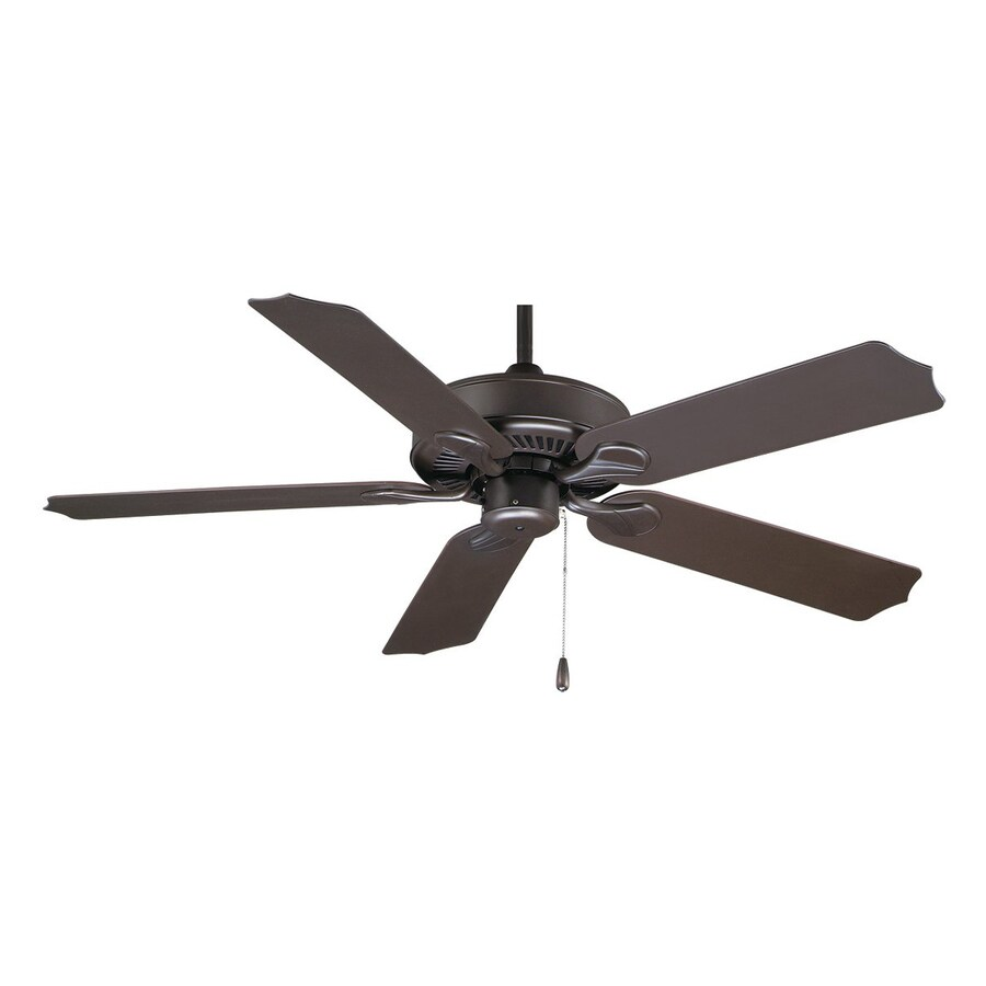 Royal Pacific Sunset 52-in Oil Rubbed Bronze Downrod Mount Indoor/Outdoor Ceiling Fan (5-Blade) ENERGY STAR
