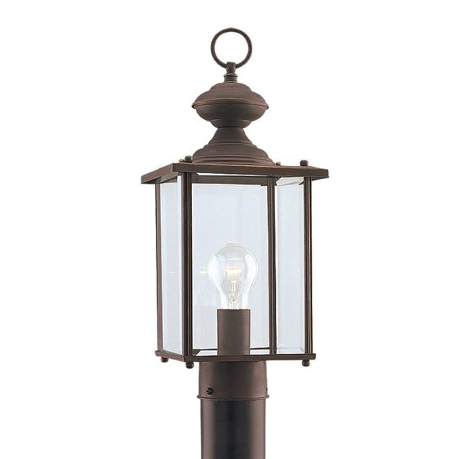 Sea Gull Lighting Jamestowne 17.25-in H Antique Bronze Post Light