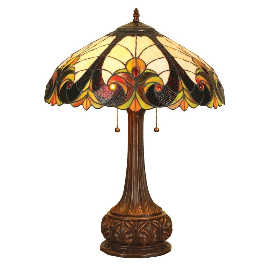 Shop Chloe Lighting Victorian 24 In Bronze Tiffany Style