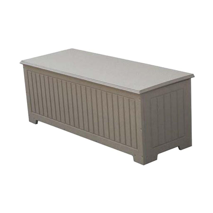 Eagle One Sydney 48-in L x 18-in W 54-Gallon Driftwood HDPE Deck Box