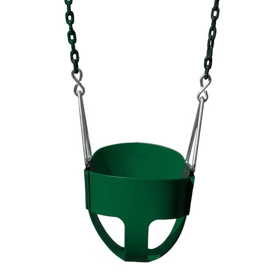 Gorilla Playsets Green Toddler Swing