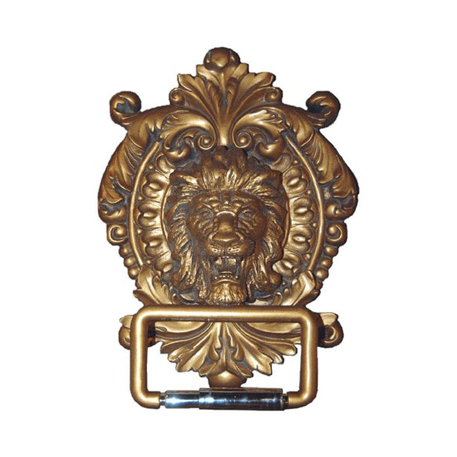 Hickory Manor House Antique Gold Surface Mount Toilet Paper Holder