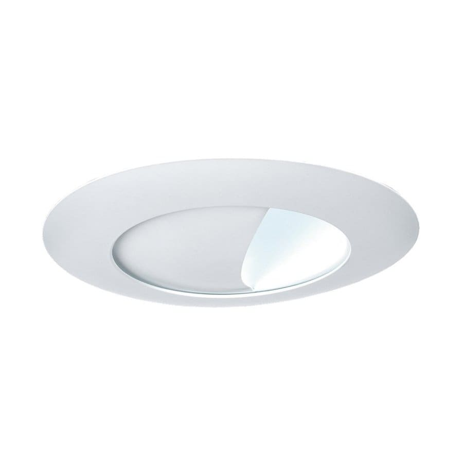 Wall Washing Recessed Lighting Distance : Shop Sea Gull Lighting White Wall Wash Recessed Light Trim (Fits Housing Diameter: 6-in) at ...