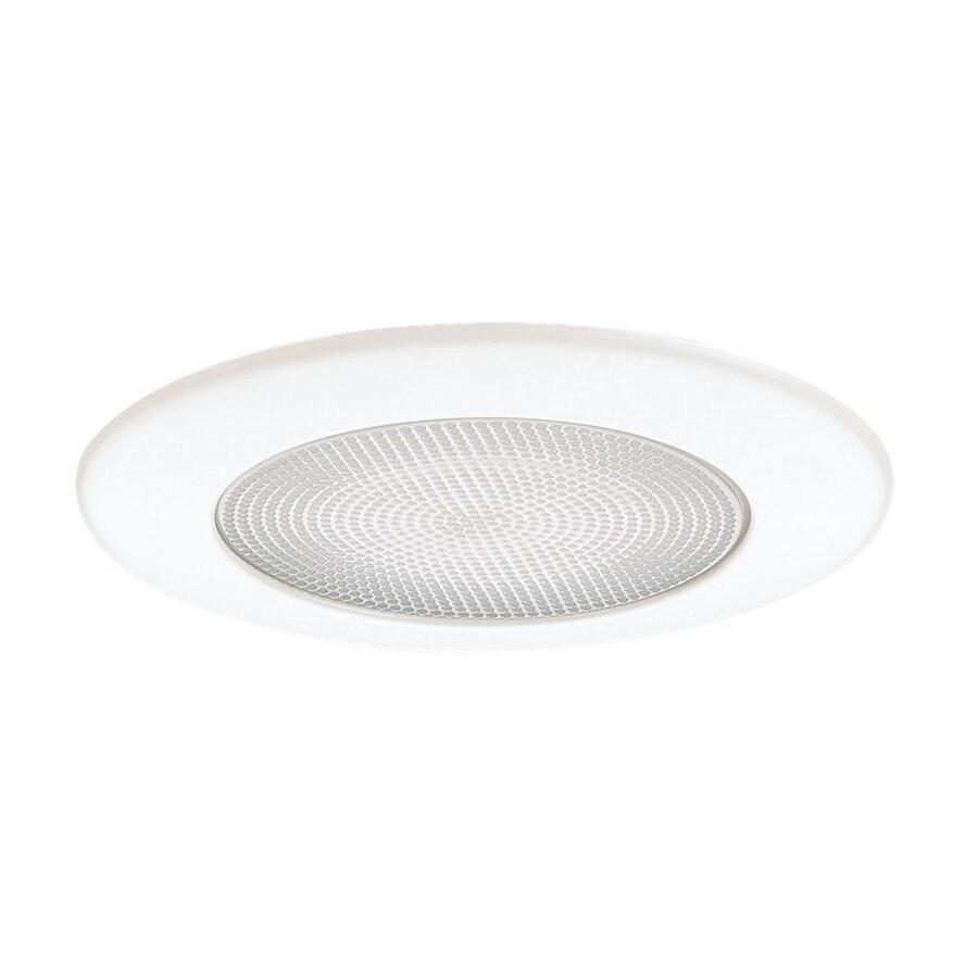 Sea Gull Lighting White Shower Recessed Light Trim (Fits Housing Diameter: 5-in)