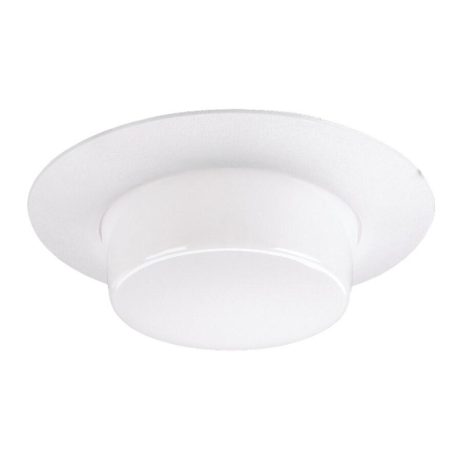 shop sea gull lighting white shower recessed light trim fits housing. Black Bedroom Furniture Sets. Home Design Ideas