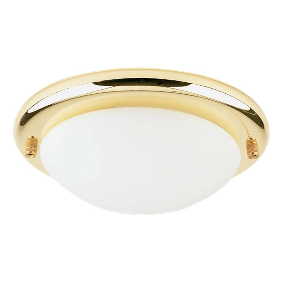 shop sea gull lighting 1 light polished brass fluorescent. Black Bedroom Furniture Sets. Home Design Ideas