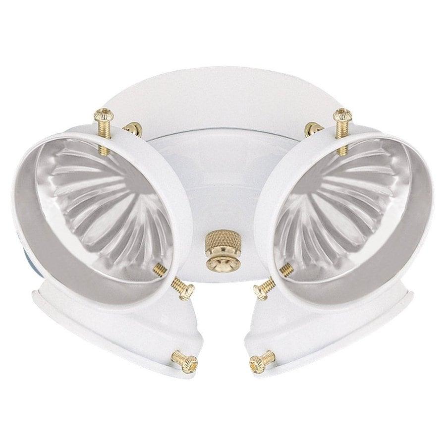 shop sea gull lighting 4 light white incandescent ceiling fan light. Black Bedroom Furniture Sets. Home Design Ideas